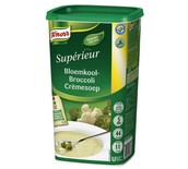 CAULIFLOWER-BROCOLI CREAM SOUP KNORR 1.05KG POWDER