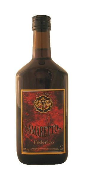 Amaretto Federico 21 176 70cl Gdc Alcohol Vds Food
