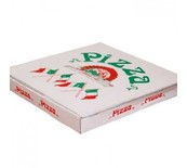 BOX PIZZA 33X33CM/4 100PC REINFORCED M