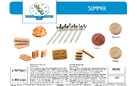 BISCUITS SUMMER VDS 300PCS+6 SPOONS