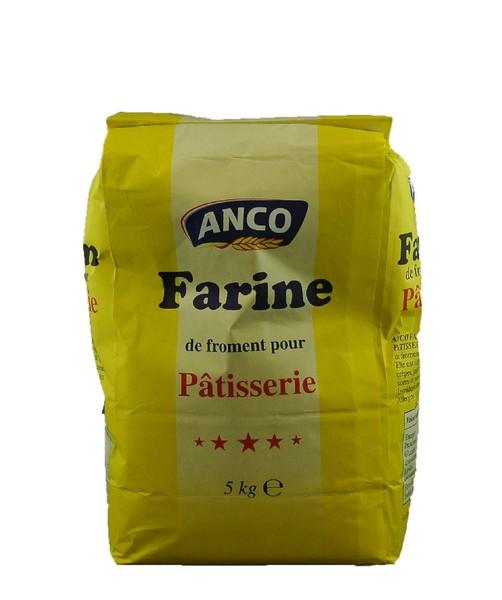 farine patisserie anco 5kg farine vds food. Black Bedroom Furniture Sets. Home Design Ideas