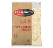 STEAKHOUSE FARM FRITES 2.5KG FRZ