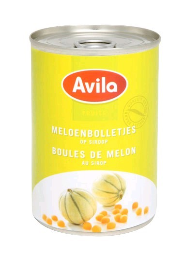 boules melon au sirop 425ml avilla fruits en conserve vds food. Black Bedroom Furniture Sets. Home Design Ideas